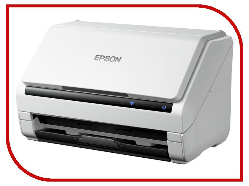 Сканер Epson WorkForce DS-570W epson workforce ds 50000