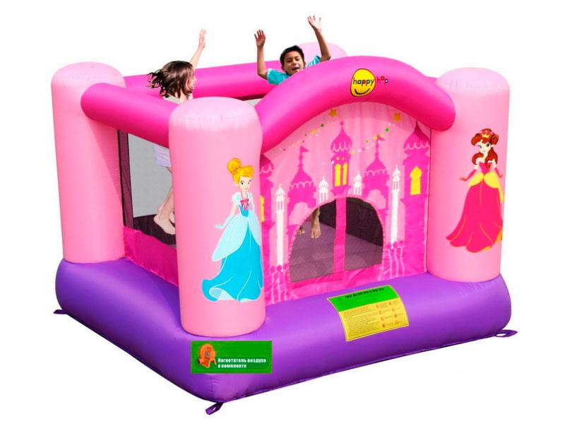 Батут Happy Hop Веселая принцесса 9001P happy hop неожиданные препятствия 9163