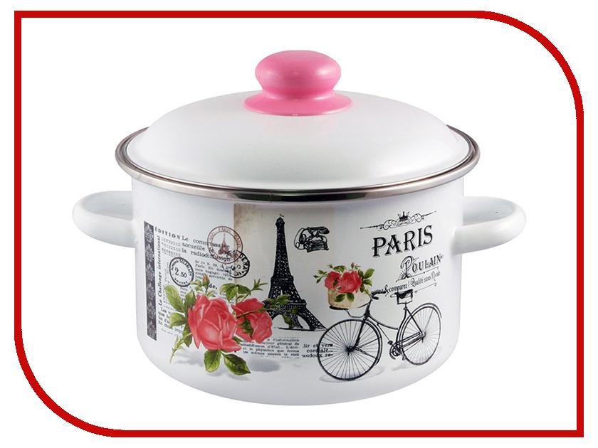Кастрюля Appetite Париж 5.5L 1RD221M кастрюля эмалированная 5 5 л appetite париж 1rd221m
