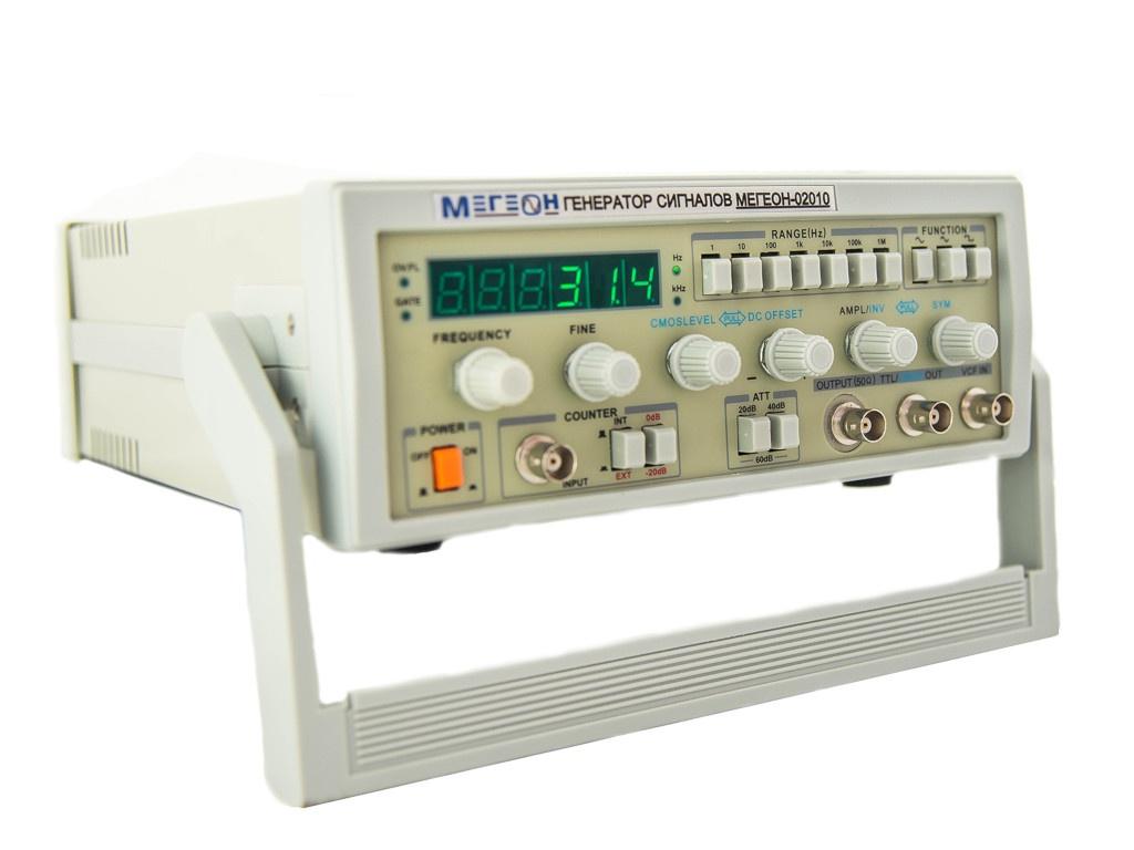 Электрогенератор Мегеон 02010 - сигналов специальной формы