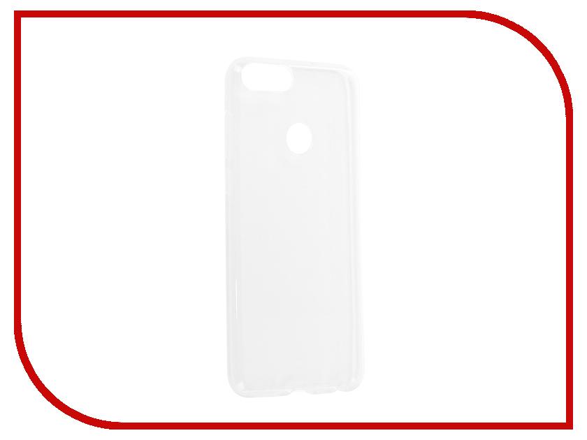 Аксессуар Чехол для Huawei P Smart Zibelino Ultra Thin Case White ZUTC-HUA-P-SMT-WHT moskii brand ultra thin pc shield case cover for huawei mate7