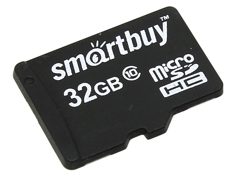Карта памяти 32Gb - SmartBuy Micro Secure Digital HC Class 10 SB32GBSDCL10-00