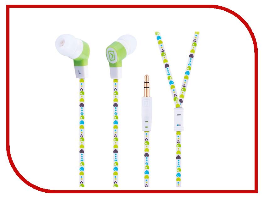 Oxion EPO302 JOY Green oxion проводная гарнитура oxion hs201 white стерео