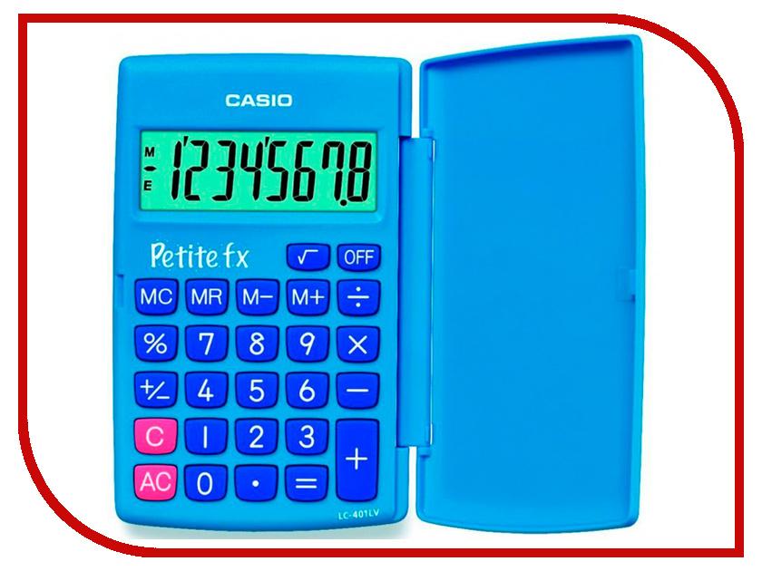 Калькулятор Casio LC-401LV-BU Blue