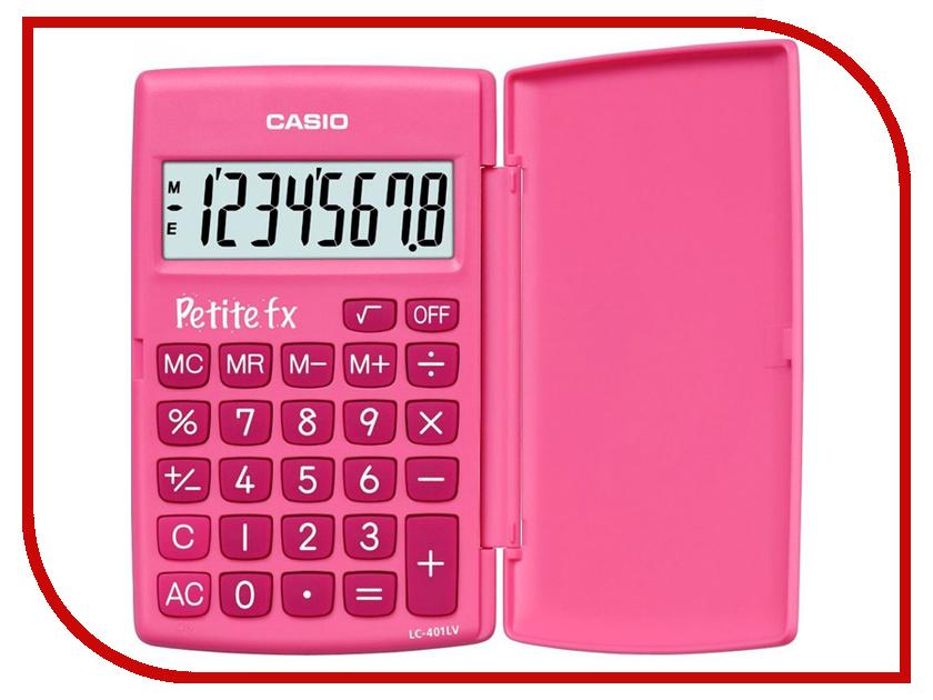 Калькулятор Casio LC-401LV-PK Pink