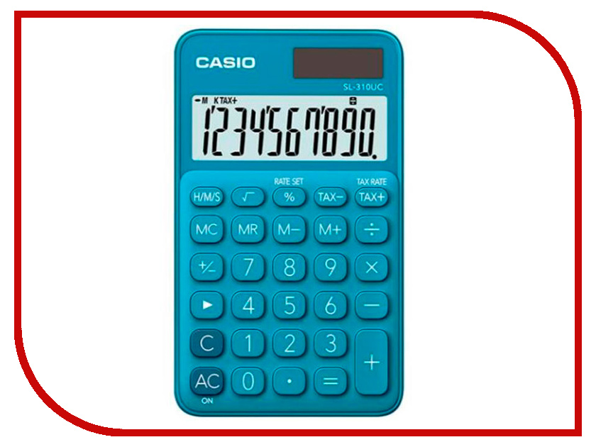 Калькулятор Casio SL-310UC-BU-S-EC Blue