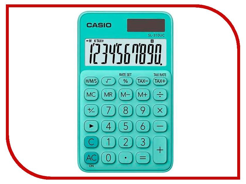 Калькулятор Casio SL-310UC-GN-S-EC Green