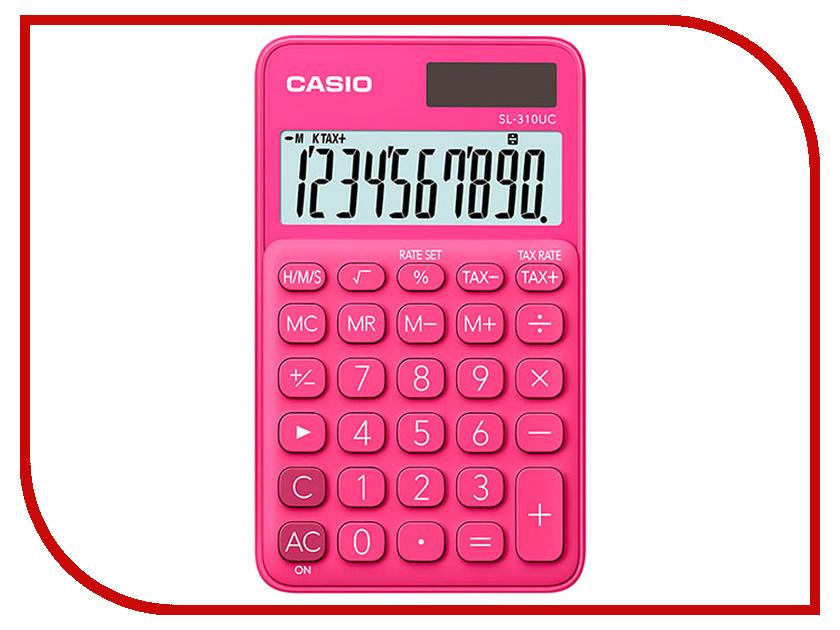 Калькулятор Casio SL-310UC-RD-S-EC Red