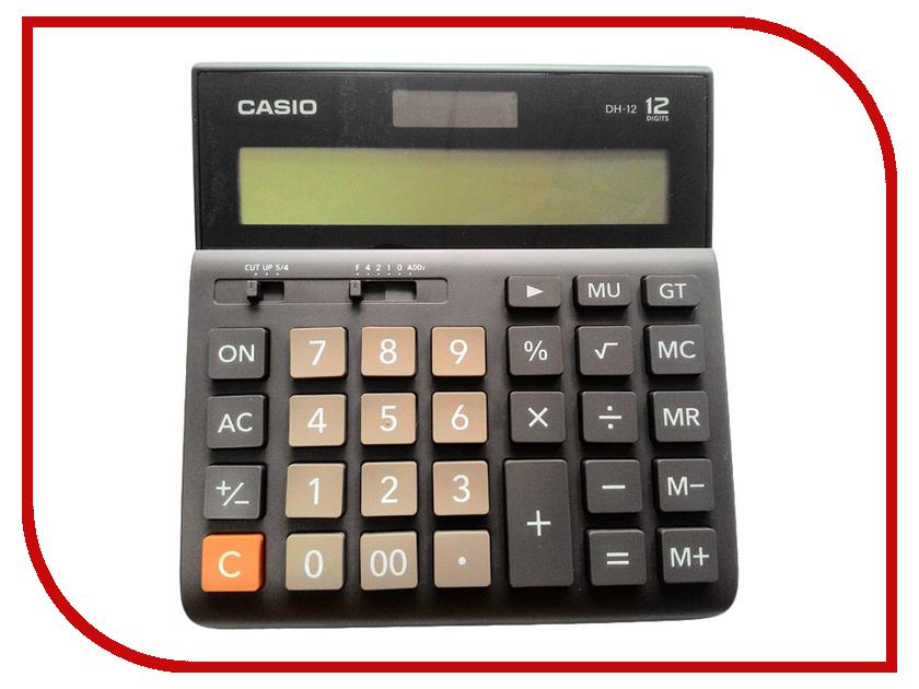 Калькулятор Casio DH-12 Brown-Black
