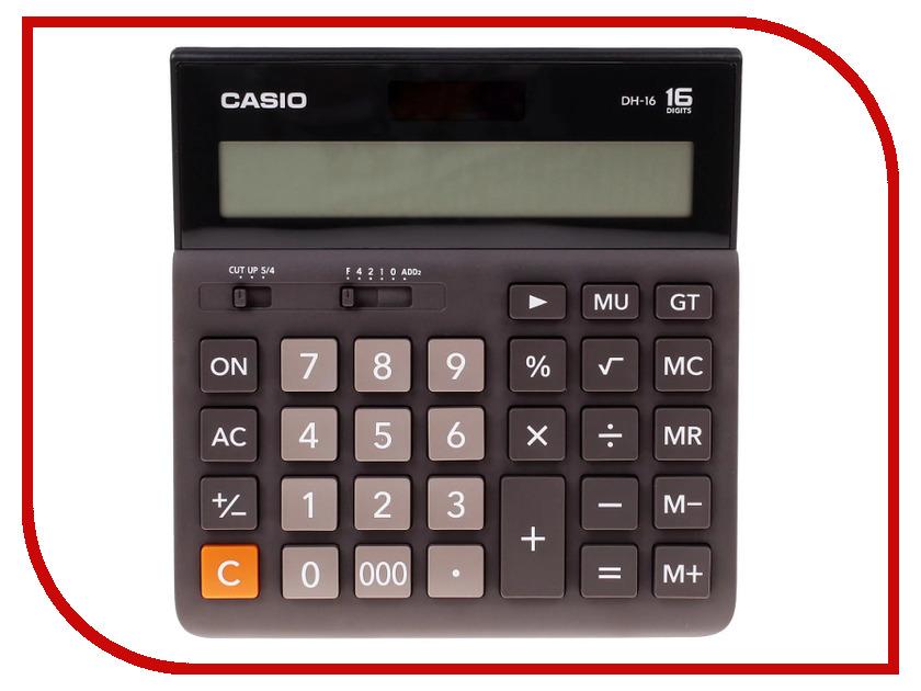 Калькулятор Casio DH-16 Brown-Black