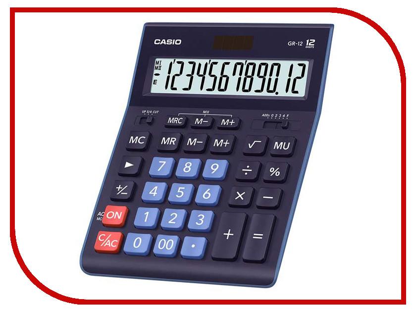 Калькулятор Casio GR-12BU калькулятор casio dx 12b