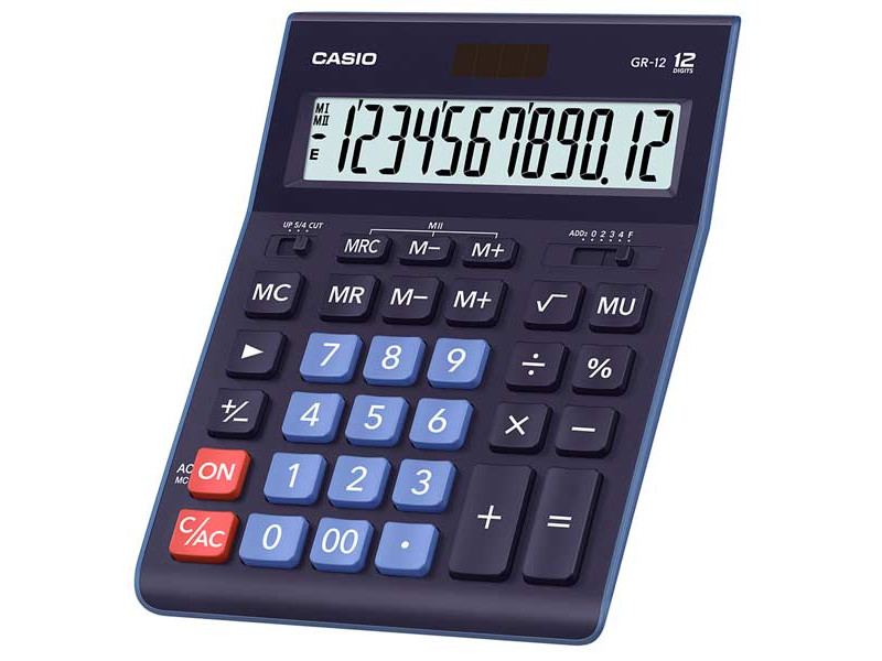 Калькулятор Casio GR-12BU калькулятор casio fx 82sx plus