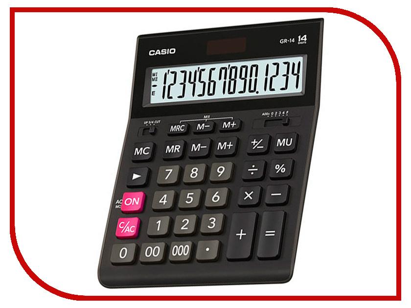 Калькулятор Casio GR-14 Black