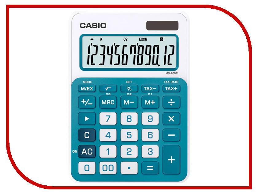 Калькулятор Casio MS-20NC-BU-S-EC Blue
