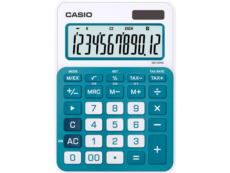 цена на Калькулятор Casio MS-20NC-BU-S-EC