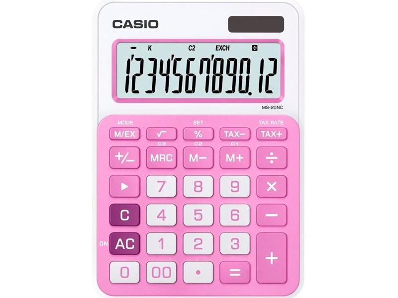 цены на Калькулятор Casio MS-20NC-PK-S-EC  в интернет-магазинах