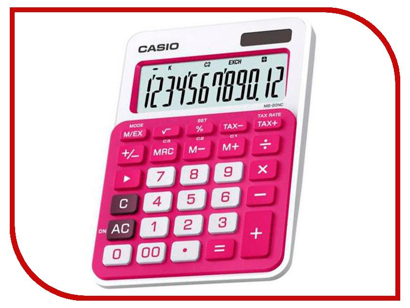 Калькулятор Casio MS-20NC-RD-S-EC Red