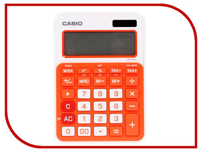 Калькулятор Casio MS-20NC-RG-S-EC Orange