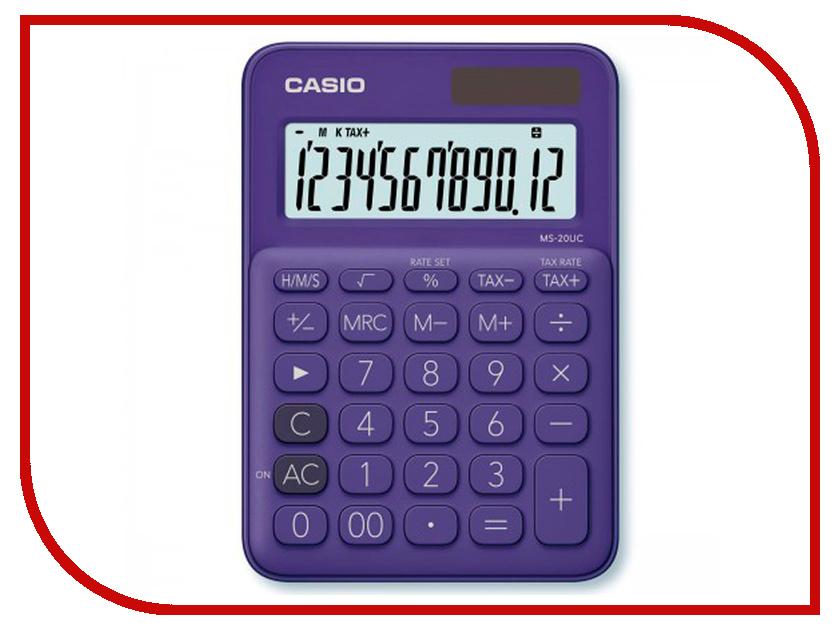 Калькулятор Casio MS-20UC-PL-S-EC Purple