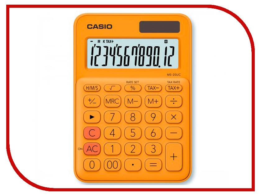 Калькулятор Casio MS-20UC-RG-S-EC Orange