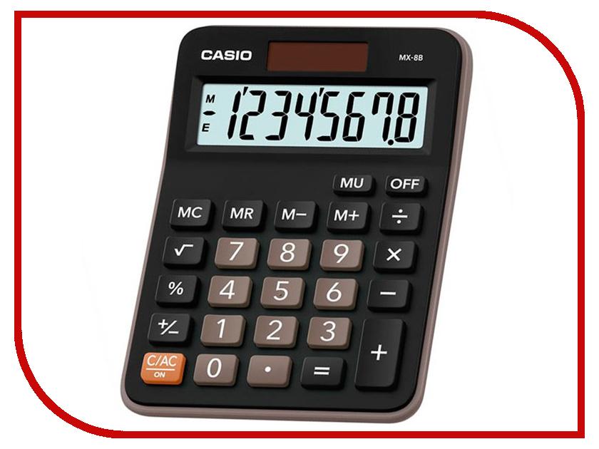 Калькулятор Casio MX-8B Black-Brown пульты программируемые urc mx 850