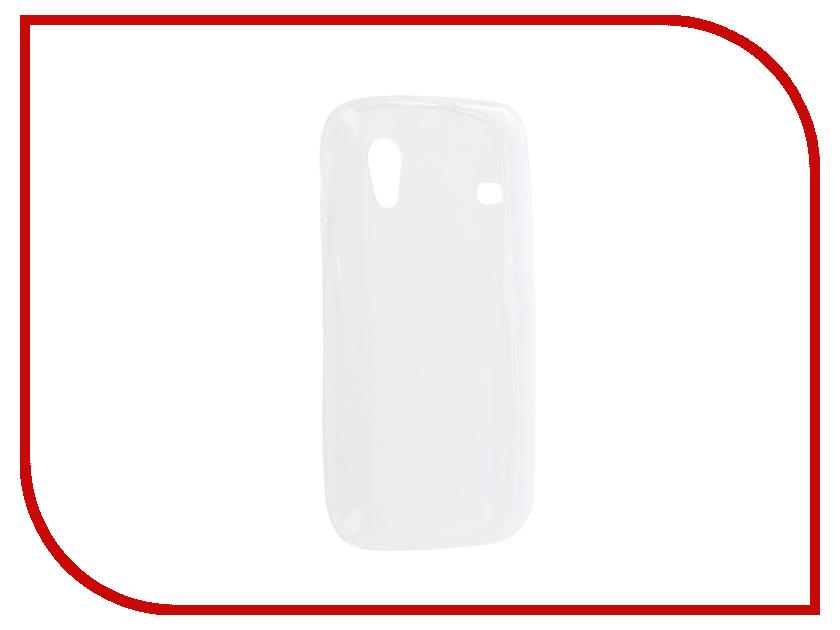 Аксессуар Накладка силиконовая Krutoff для Samsung Galaxy Ace S5830