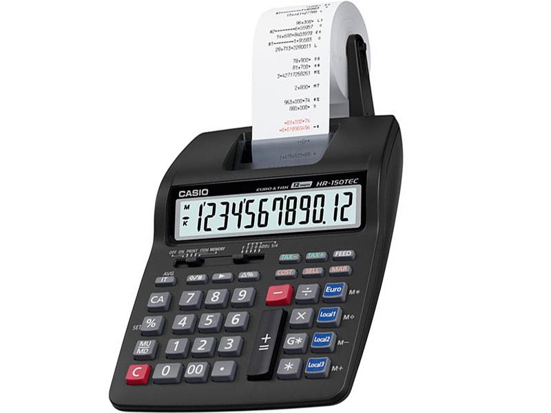 Калькулятор Casio HR-150RCE-WA-EC