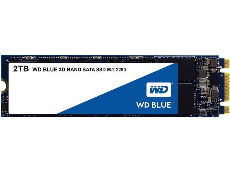Твердотельный накопитель Western Digital WD 2Tb Blue WDS200T2B0B