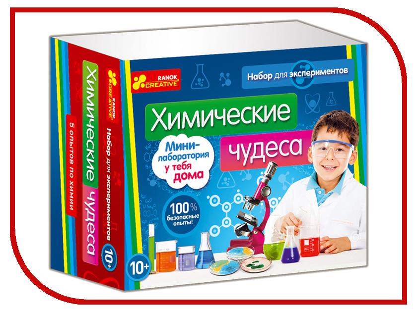 Игра RANOK CREATIVE Химические чудеса