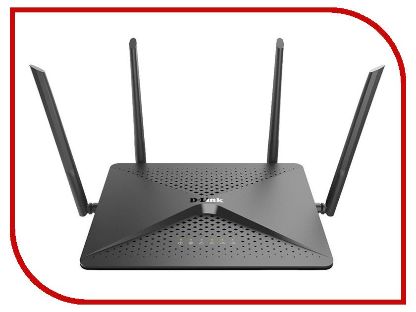 Wi-Fi роутер D-link DIR-882 роутер d link dir 620a белый 1000мбит с 2 4