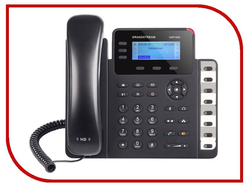 VoIP оборудование Grandstream GXP1630 атс ip grandstream ucm6208 8xfxo 2xfxs nat 2xgblan poe