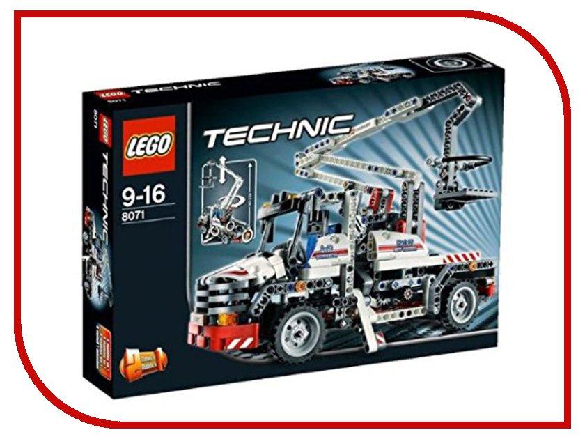 Конструктор Lego Technic Bucket Truck 8071 8293 конструктор lego technic мотор power functions 10 элементов 8293
