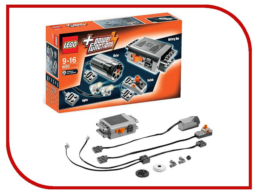 Конструктор Lego Technic Power Functions Motor Set 8293 dc220v 750w 1800rpm permanent magnet motor power to high speed motor drive positive