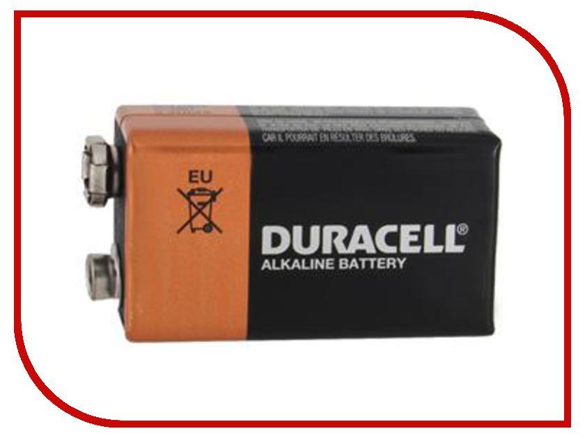 Батарейка КРОНА Duracell 6LF22 / 6LR61-MN1604 (1 штука) крона бим бом крона
