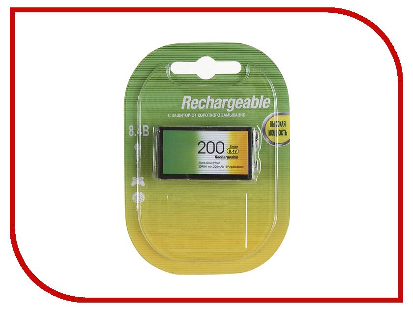 Аккумулятор КРОНА GP 20R8H-BC1 200 mAh Ni-MH gp d type rechargeable 4500mah ni mh battery green white 2 piece pack