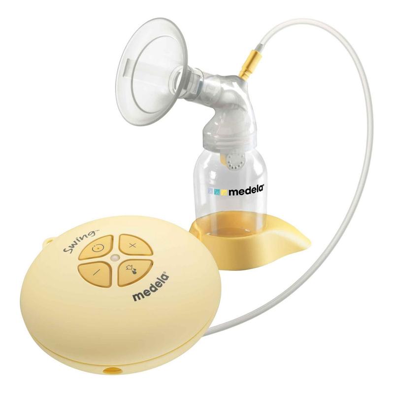 Молокоотсос Medela Swing 030.0042 электрический medela накладки на грудь силиконовые контакт 2шт уп s medela