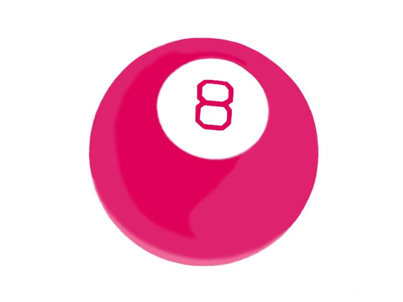 Купить шары для принятия решений   Шар для принятия решений Шар для принятия решений Magic 8 Ball Pink