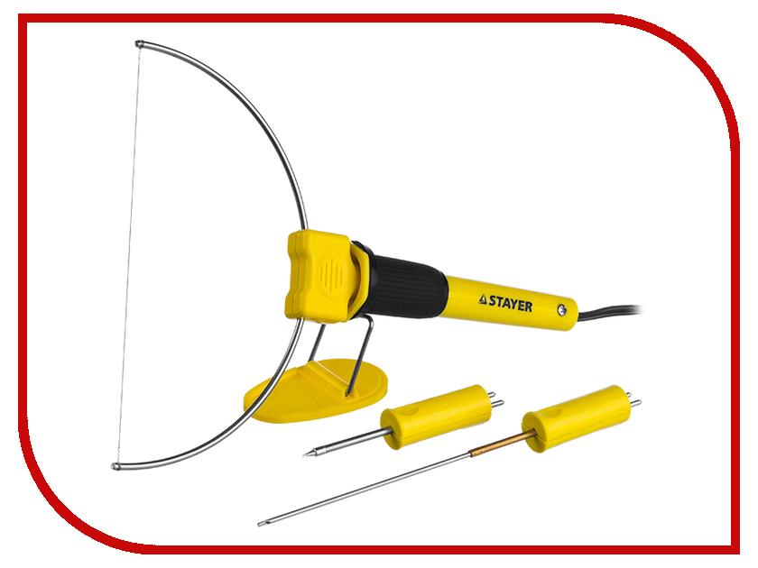 Прибор для художественной резки пенопласта Stayer Master Maxtermo 45257-H3 заготовка из пенопласта сердце венок 25 24см толщина 2см