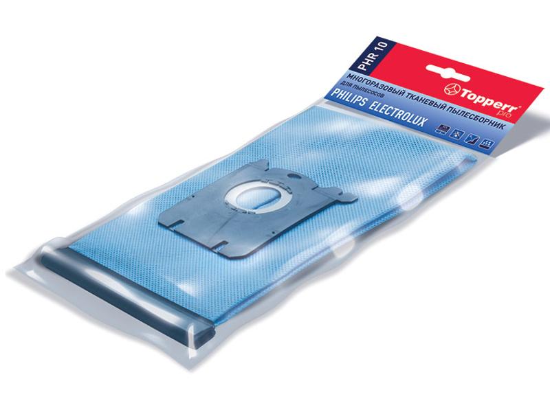 Пылесборник синтетический Topperr PHR10 1шт многоразовый для Philips / Electrpolux
