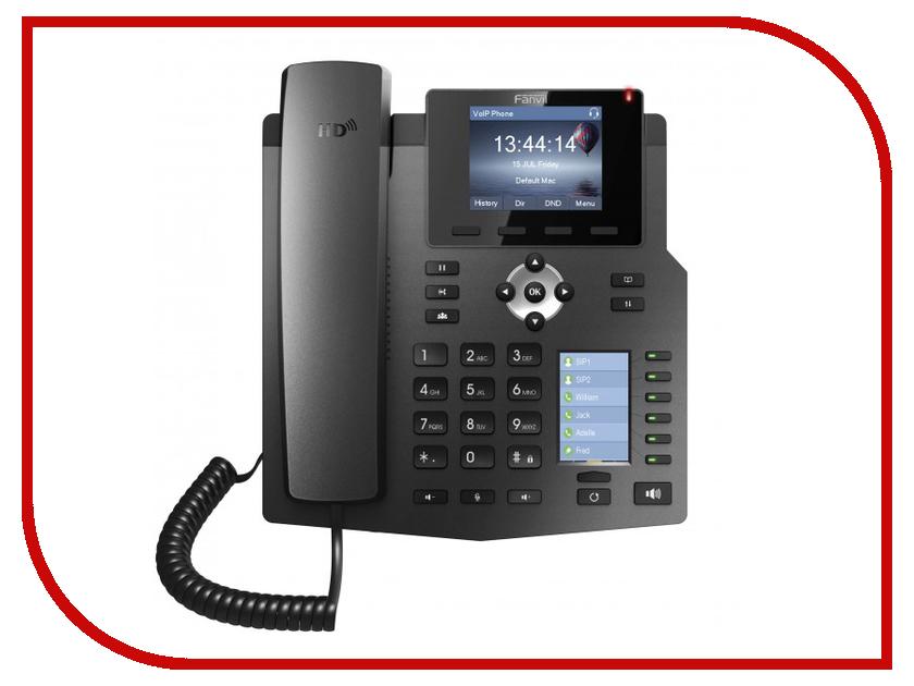 VoIP оборудование Fanvil X4G voip телефон grandstream networks gxp2160