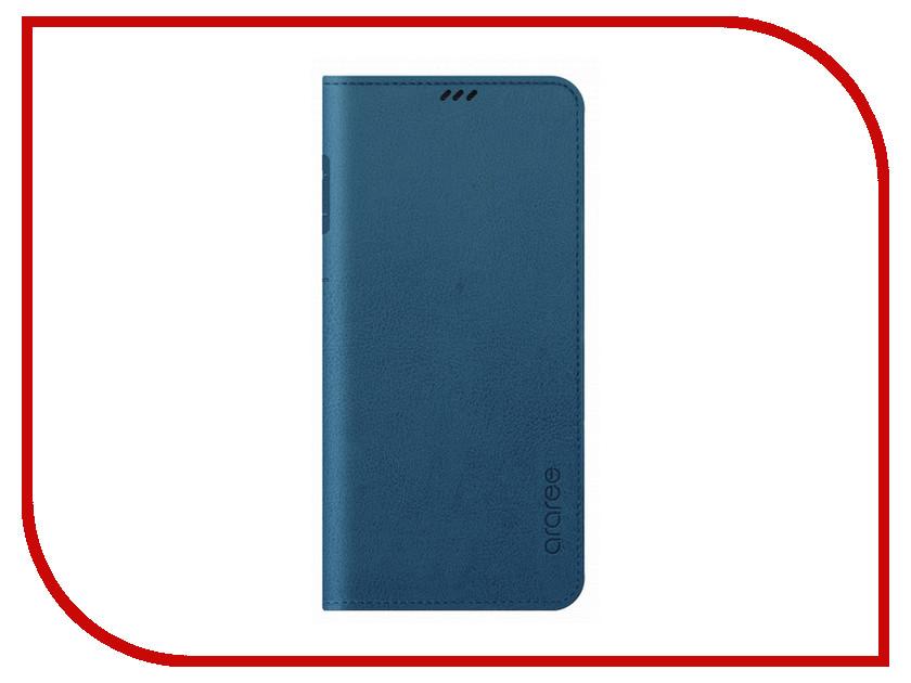 Аксессуар Чехол для Samsung Galaxy S9 Plus Araree Mustang Diary Blue GP-G965KDCFAIC чехол araree mustang diary s9 синий