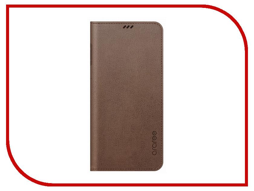 Аксессуар Чехол для Samsung Galaxy S9 Araree Mustang Diary Brown GP-G960KDCFAID чехол araree mustang diary s9 синий