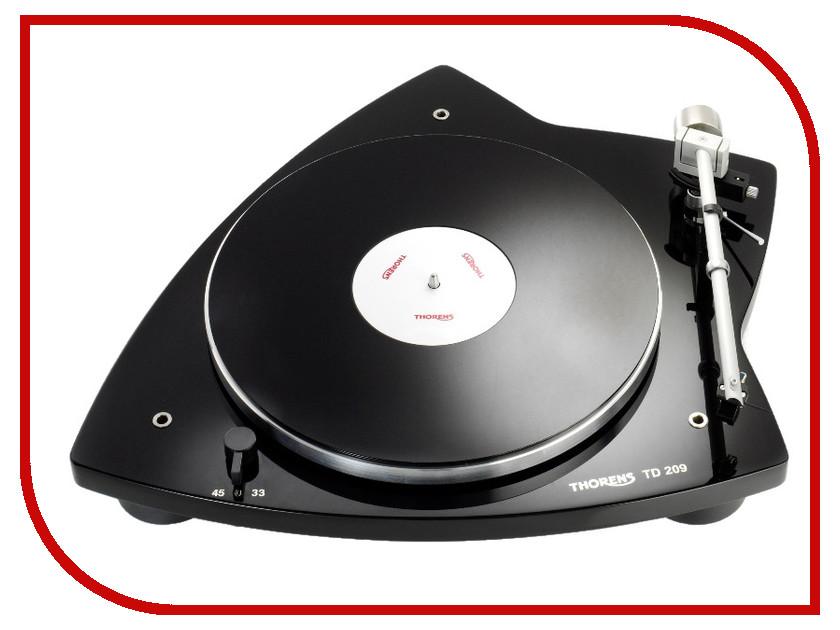 Проигрыватель виниловых дисков Thorens TD-209 High Gloss Black cd проигрыватель nad c546bee