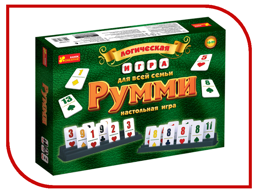 Настольная игра Ranok Creative Румми 12120028Р настольная игра ranok creative ассоциации 12120027р