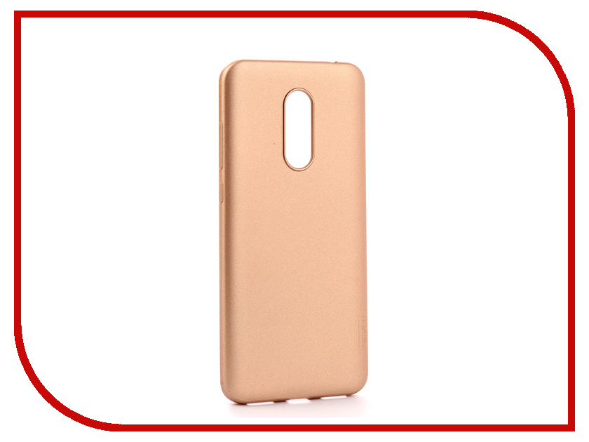 Аксессуар Чехол для Xiaomi Redmi 5 Plus X-Level Guardian Series Gold 2828-063 uag iphone7 plus 5 5 дюйма падение сопротивления mobile shell чехол для apple iphone7 plus iphone6s plus premier series ice silver