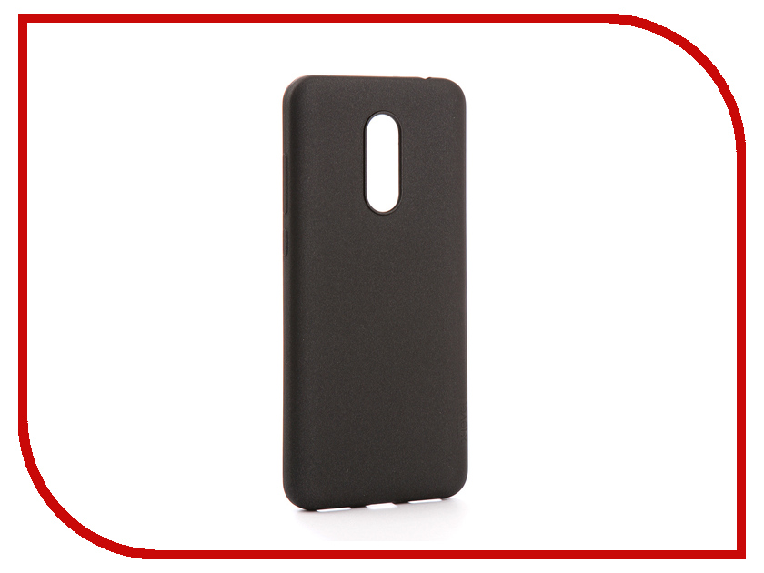 Аксессуар Чехол для Xiaomi Redmi 5 Plus X-Level Guardian Series Black 2828-064 uag iphone7 plus 5 5 дюйма падение сопротивления mobile shell чехол для apple iphone7 plus iphone6s plus premier series ice silver