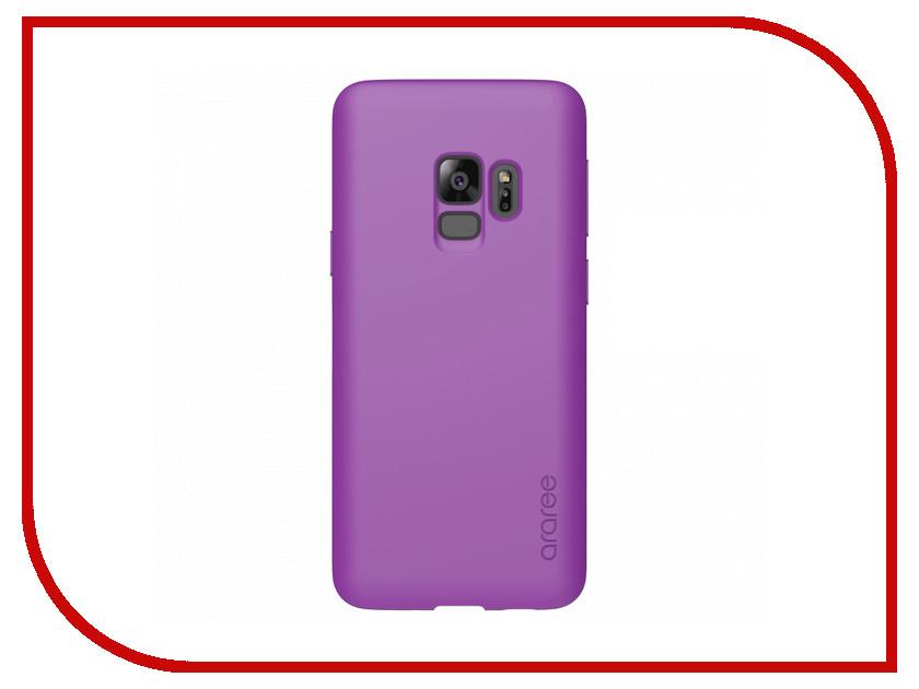 Аксессуар Чехол для Samsung Galaxy S9 Araree Airfit POP Purple GP-G960KDCPBIC mooncase slim leather side flip wallet card slot pouch with kickstand shell back чехол для samsung galaxy a3 purple