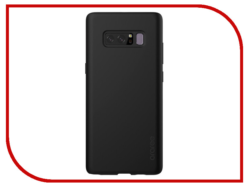 Аксессуар Чехол для Samsung Galaxy Note 8 Araree Airfit Black GP-N950KDCPAAD чехол samsung для samsung galaxy note 8 araree airfit прозрачный gp n950kdcpaaa