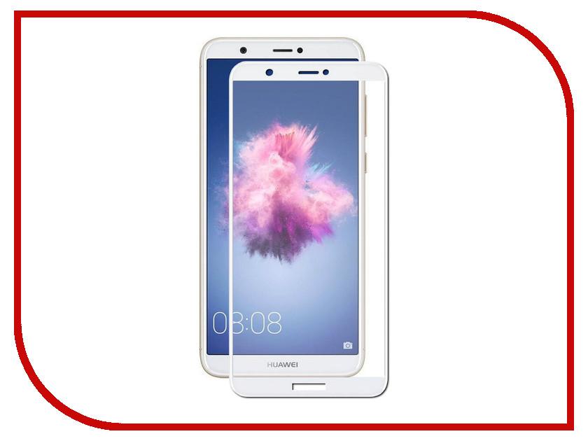 Аксессуар Защитное стекло для Huawei Honor P Smart Mobius 3D Full Cover White 4232-158 аксессуар защитное стекло для huawei honor y9 2018 luxcase 3d full screen black frame 77921