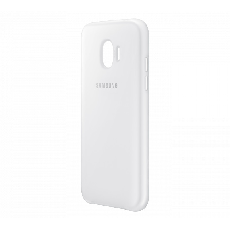 Аксессуар Чехол Samsung Galaxy J2 2018 Dual Layer Cove White EF-PJ250CWEGRU аксессуар чехол samsung galaxy j2 2018 dual layer cover gold ef pj250cfegru